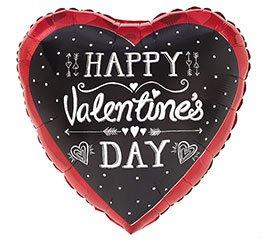 "San Valentine Globo 18"" Happy Valentines Day"