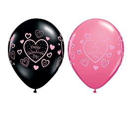 "San Valentine Globos Latex ""Happy Valentines Day"""