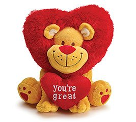 "San Valentine Peluche ""You´re Great"""