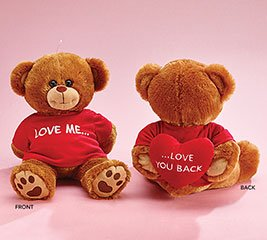 """San Valentine Peluche """"Love Me and Love you Back"""""""