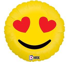 """San Valentine Globo Emoji 18"""""""