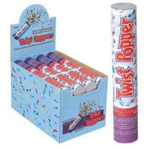 Confetti Twist Popper Grande