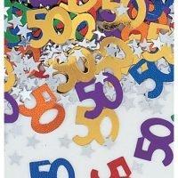 Confetti 50 Cumpleaños