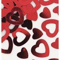 Confetti Corazon Rojo