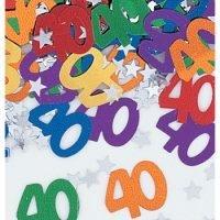 Confetti 40 Cumpleaños
