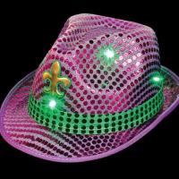 Sombrero con Luz y Lentejuelas
