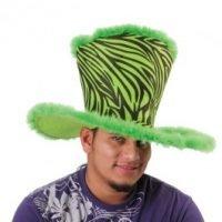 Sombrero Copa Alta Prints Verde