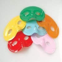 Antifaz Colores Paquete 12 Unid