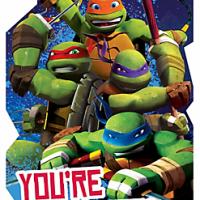 Ninja Turtles Invitaciones