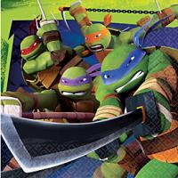 Ninja Turtles Servilleta de Almuerzo o Cena Cada paquete