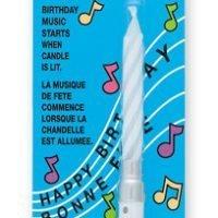 Vela Musical Blanca