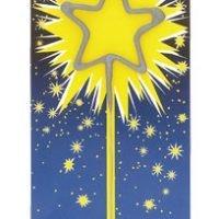 Vela Bengala Forma Estrella