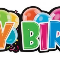 Banner Gigante Happy Birthday
