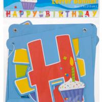 Banner Happy Birthday Cup Cake Precio: ¢ 2.800,00