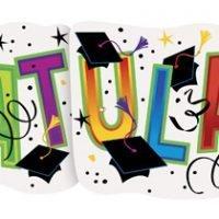 """Banner Graduacion """"Congrats"""""""