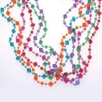 Collares Colores Diamante Paq 12 Unid