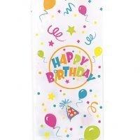 Bolsas Celofan Happy Birthday Paq 20 Unid Precio: ¢ 2.000,00