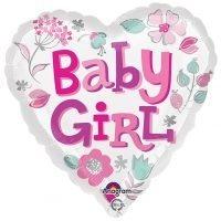 """Globo Metalico 18"""" Baby Girl"""