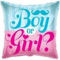 """Globo Metalico 18"""" Boy or Girl ?"""