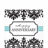 Aniversario Servilleta para Almuerzo Paq 16 Unid Precio: ¢ 3.000,00