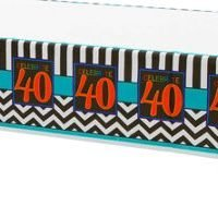40Th Birthday Mantel Rectangular