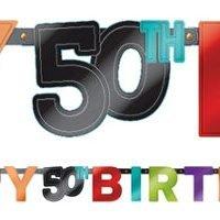 50 Años Banner Letras
