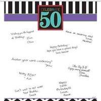 50 Años Colgante para Firmas
