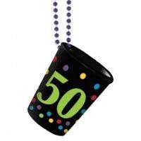 50 Años Collar con Shot