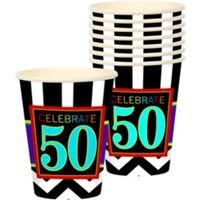 50 Años Vasos Carton