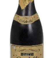 Navidad / Año Nuevo Botella Confetti