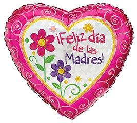 """Globo 18"""" Feliz Dia de las Madres"""