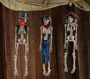 Halloween Esqueletos Decoracion