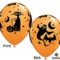 Halloween Globos Latex 12""