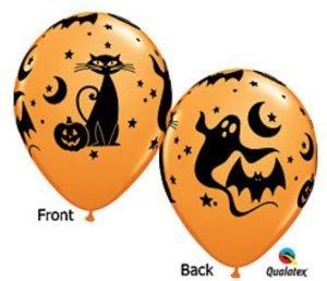 "Halloween Globos Latex 12"""