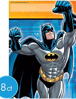 Batman Bolsita Plastica Party Time Heredia
