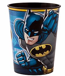 Batman Vaso Plastico Party Time Heredia