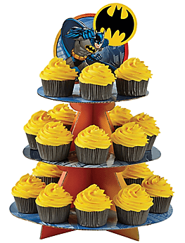 Batmann Cupcake Stand Party Time Heredia