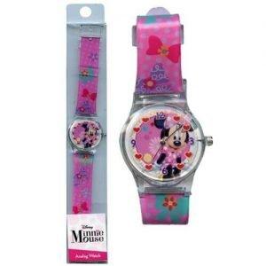 Minnie Analog Watch Party Time Heredia