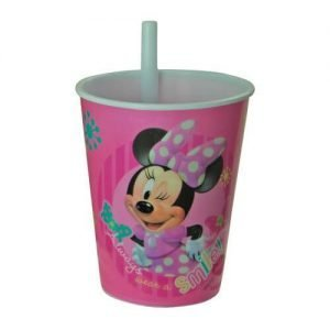 Minnie Vaso Plastico Party Time Heredia