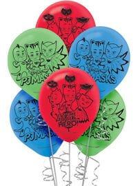 PJ Mask Globos Latex Party Time Heredia
