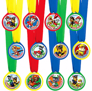 Paw Patrol Accesorios Medallas Party Time Heredia