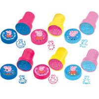 Peppa Pig Accesorios Sellos Party Time Heredia