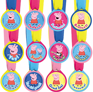 Peppa Pig Medallas Party Time Heredia