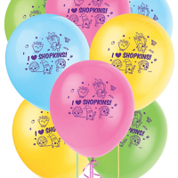 Shopkins Globos latex party time heredia