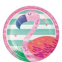 Piña-Flamingo Plato Postre