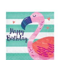 Piña-Flamingo Servilleta Cena
