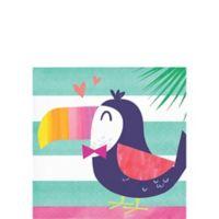 Piña-Flamingo Servilleta Bebida