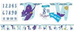 Sirena Banner para Personalizar