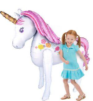 Unicornio Magico Gobo Metalico Figura