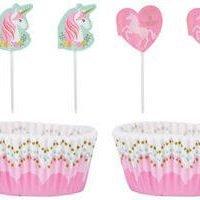 Unicornio Magico Capsulas de Cupcake